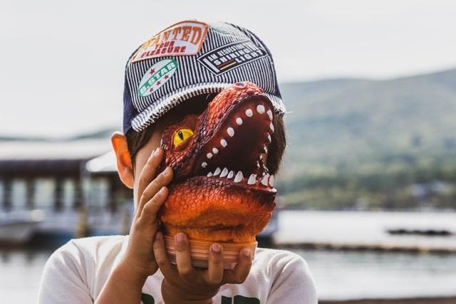 恐竜好きの子はより賢くなる理由についての画像