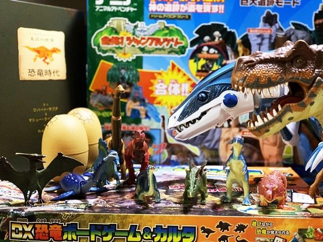 最強の恐竜おもちゃの候補を紹介する画像